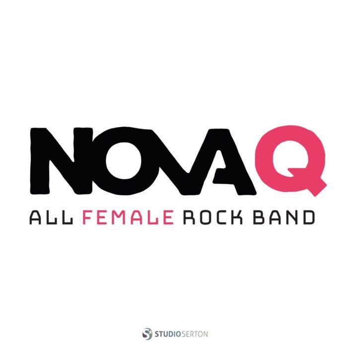 Ontwerp Logo Rockband Nova-Q