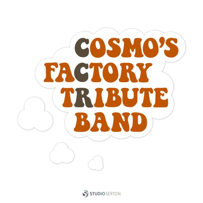 Logo Cosmo's Factory CCR Tribute Band