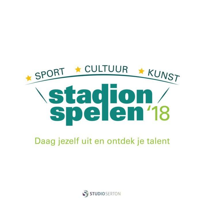 Logo Stadion Spelen 2018 i.o.v Combiwel / ABN AMRO